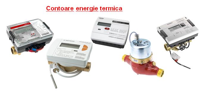 Contoare energie termica