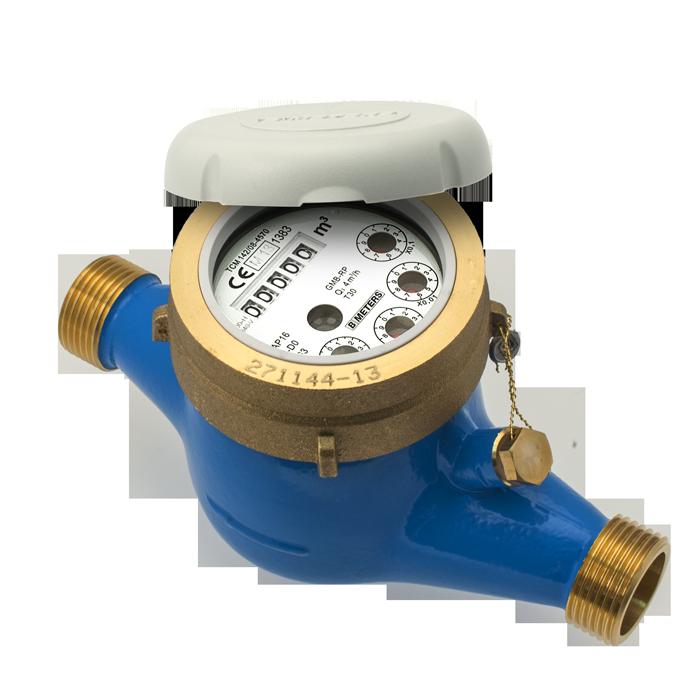 Contoare apa rece tip GMB-RP DN 15 Q 2,5 mc/h, R160 (Clasa C)