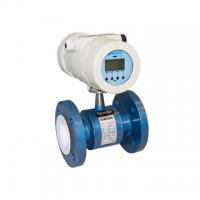 Debitmetru electromagnetic MAG-C DN 100, PN 16,COMPACT, Alim. 90-264 Vc.a.,liner cauciuc tare, electrozi inox, iesire 4-20 mA, impulsuri