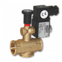 Electrovana gaz M16/RMO NA, filet, DN 25, cod: RO04 008, 230 Vca, IP65, Pmax. 500 mbar, MADAS