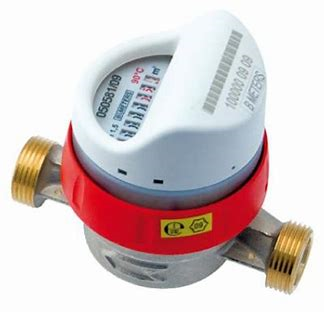 Contor apa calda tip monojet cu mecanism uscat tip GSD8-RFM DN 15 Q 2,5mc/h, R160-H ( clasa C) echipat  cu modul RADIO compact RFM-TX1.1 OMS, IP65