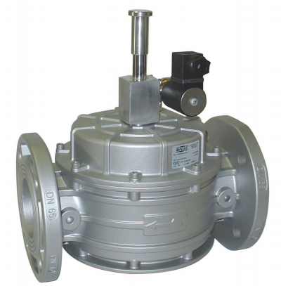 Electrovana gaz M16/RMO NA, flansa, DN 100, cod: EX10 008, 230 Vca, IP65, Pmax. 500 mbar, MADAS